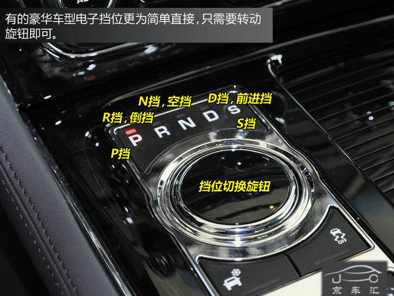 京车汇-图解汽车内部各种按钮与标识
