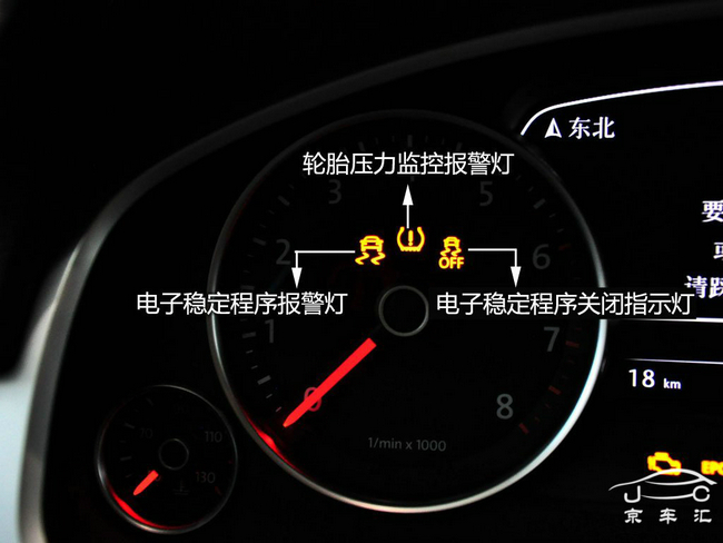 大众车系常用指示灯功能解读
