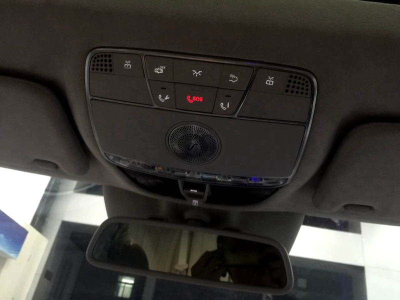奔驰140防盗盒电路图